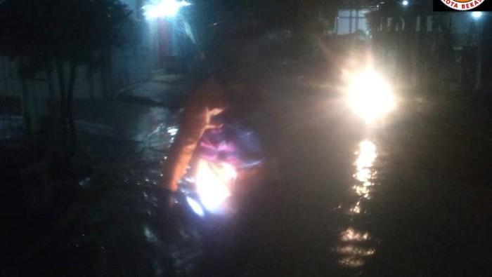 Banjir di Pondok Mitra Lestari (Dok BPBD Kota Bekasi)