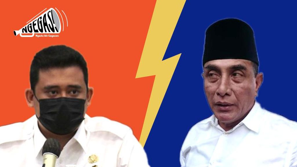 Bobby Nasution vs Gubsu Edy soal Karantina WNI di Sumut