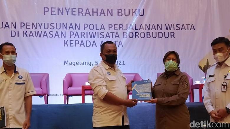 Buku Panduan penyusunan perjalanan wisata Kawasan Pariwisata Borobudur