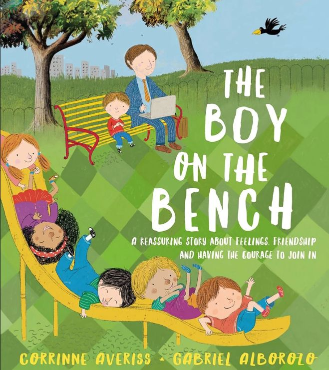 Buku 'The Boy on the Bench'.