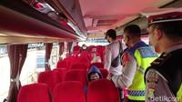 Berani-beraninya Bus Akap Ini Kelabui Petugas: Ngaku Kosong, Ternyata Bawa Penumpang Mudik