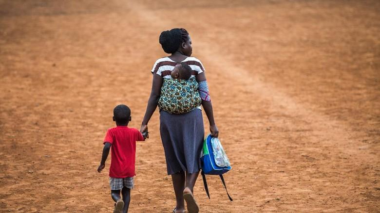 ilustrasi masyarakat Uganda