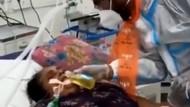 Kacau! Pria Ini Paksa Pasien COVID-19 di India Minum Air Kencing Sapi