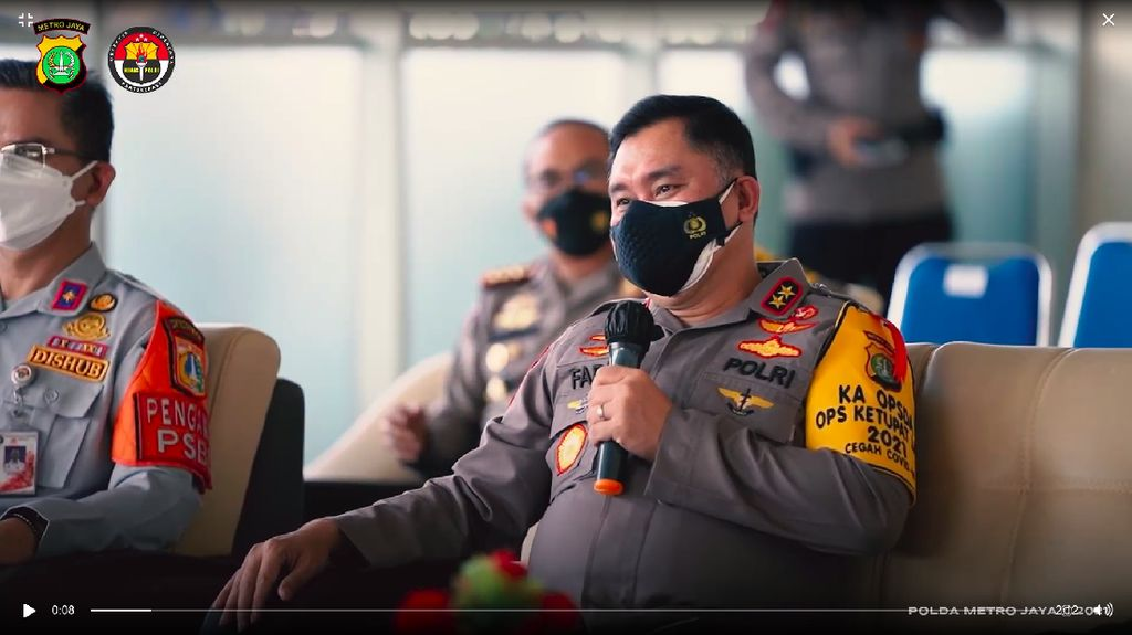 Polda Metro Jaya Akan Sediakan Ambulans untuk Warga Positif COVID-19