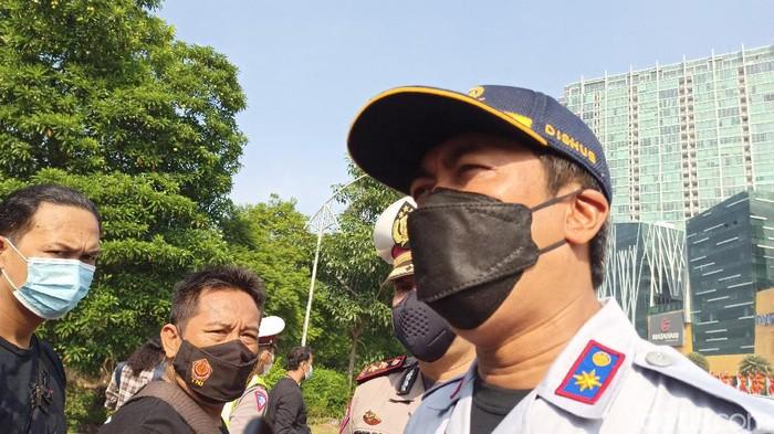 Kepala Dinas Perhubungan Kota Surabaya Irvan Wahyudrajat