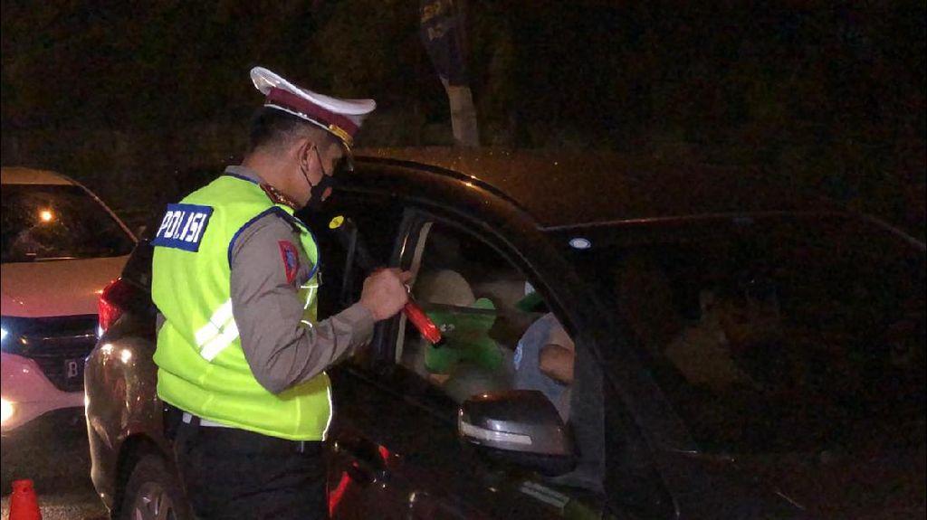 Larangan Mudik, 164 Kendaraan di Perbatasan Aceh-Sumut Diputar Balik