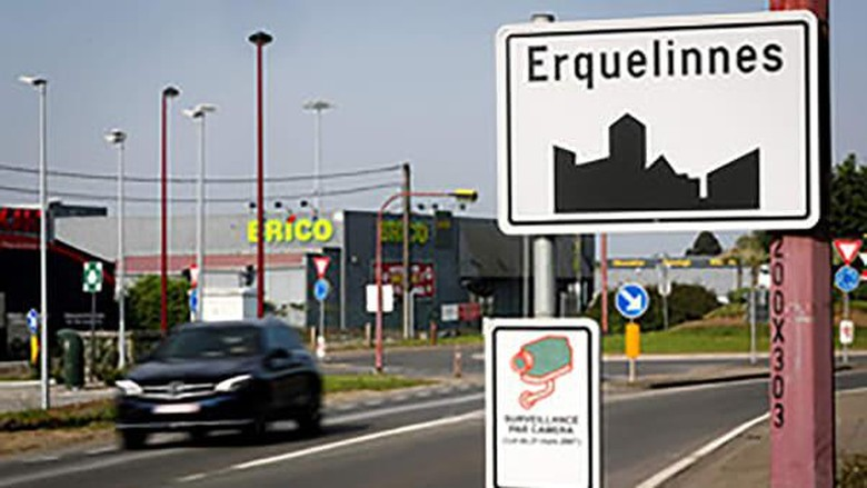 Kota Erquellines Belgia