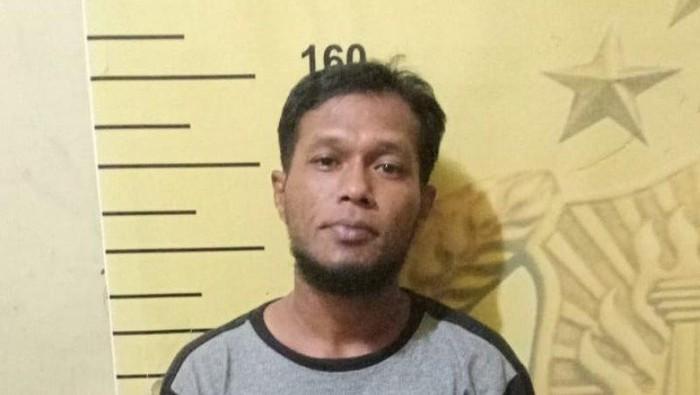 KR (33) pelaku pemerasan warga di Medan dengan modus mencatut SPSI (ANTARA/HO)