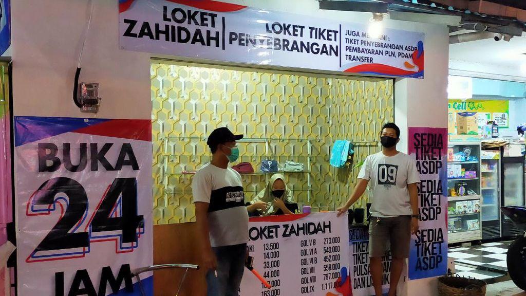 Curhat Penjual Tiket Online Penyeberangan Ketapang Saat Mudik Dilarang