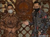 Nostalgia AHY-Anies Kala Berjumpa di Balai Kota Jakarta