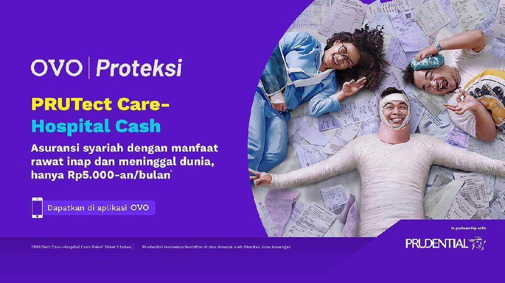 OVO & Prudential Rilis Asuransi Jiwa Syariah, Mulai Rp 5.000/Bulan