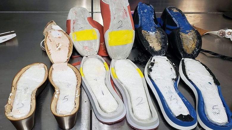 Penyelundupan Kokain di Sepatu