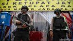 Persiapan Pengamanan Pos Operasi Ketupat Jaya Jakut