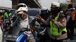 Polisi Juga Hadang Pemudik di Kota Bekasi