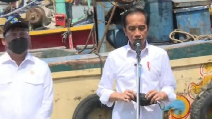 Presiden Jokowi Bertemu Nelayan di TPI Brondong Lamongan