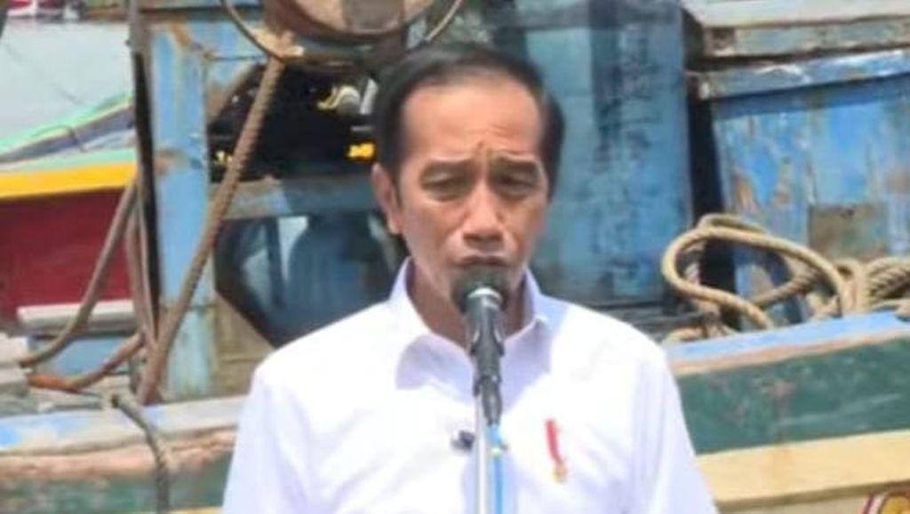 Janji Jokowi ke Nelayan di Lamongan: Pengerukan-Tingkatkan Kesejahteraan