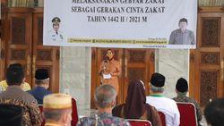 Meningkat, Gebyar Zakat Pemkab Serang Ramadhan Capai Rp 2,6 M