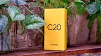 Unboxing Realme C20, HP Rp 1,2 Jutaan Punya Baterai 5.000 mAh