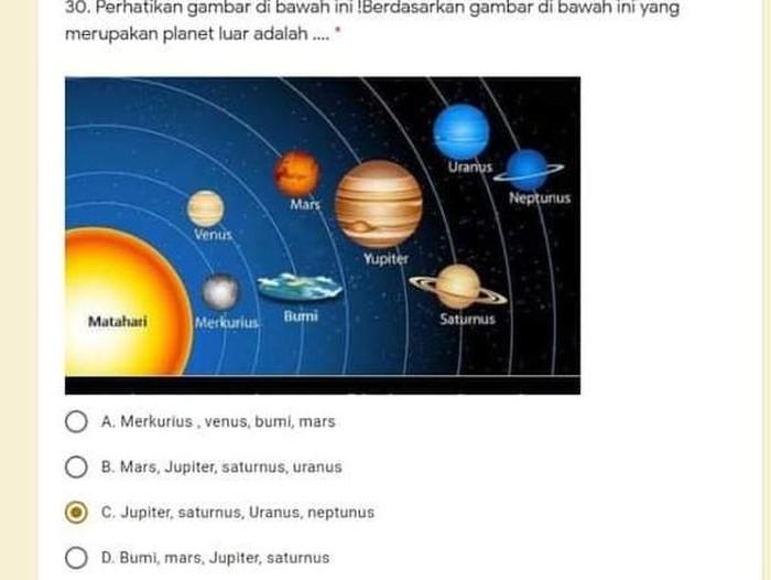 soal bumi datar