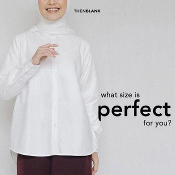 Rekomendasi baju putih untuk lebaran 2021.