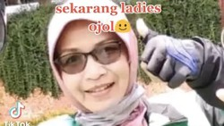 Ini Potret Wanita yang Dulu Istri Pejabat Kini Jadi Ojek Online di Cirebon