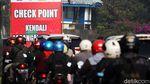 Ada Check Point Larangan Mudik, Jalan Cileunyi-Cibiru Macet