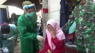 Razia Prokes di Mal Probolinggo, Pelanggar Ada yang Adu Mulut hingga Nangis