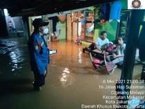 Cipinang Melayu Dilanda Banjir, Puluhan Rumah Terendam