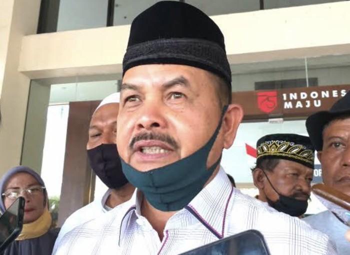 Eks Wali Kota Padang Fauzi Bahar (Jeka Kampai-detikcom)