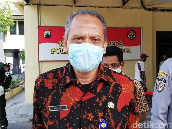 Ketua Pelaksana Satgas Penanganan COVID-19 Kota Solo Ahyani, Jumat (7/5/2021).