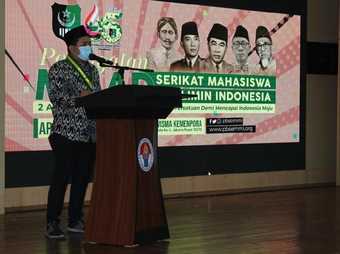 Ketua Umum Serikat Mahasiswa Muslimin Indonesia (SEMMI), Bintang Wahyu Saputra,