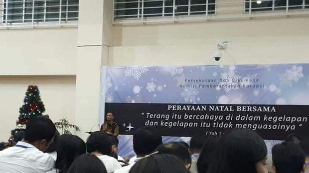 Ketua Wadah Pegawai (WP) KPK Yudi Purnomo Harahap