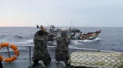 KKP Lumpuhkan 2 Kapal Ikan Ilegal Berbendera Vietnam di Natuna Utara