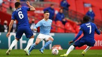 Man City Vs Chelsea: Duel Phil Foden dan Mason Mount