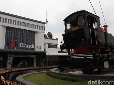 Liburan ke Bandung Naik Kereta, Jangan Lupa Lihat Monumen Purwa Aswa Purba