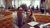 Mengenang Momen Joanna Alexandra dan Mendiang Raditya Oloan Saat Makan Bersama