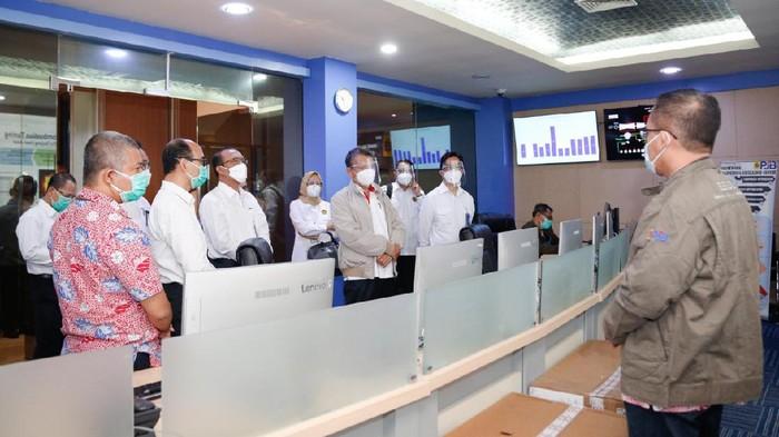 Menteri ESDM mengunjungi PLN UP2B Jatim