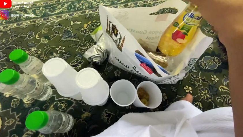 Seperti Ini Menu Takjil Buka Puasa di Masjidil Haram Mekkah