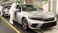 Honda CIvic Sedan Generasi 11 Resmi Masuk Jalur Produksi