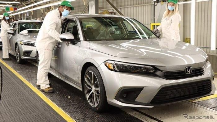 New Honda Civic Sedan diproduksi di Kanada