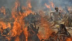India Diamuk COVID-19, Pecah Rekor 4.000 Lebih Kematian dalam Sehari