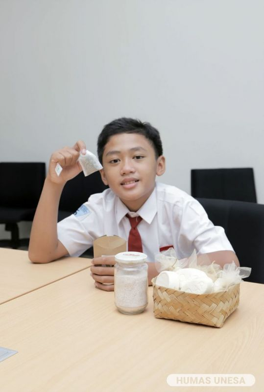 Prabu Panendya Firdaus Putra Aglar dari SD Labschool Unesa