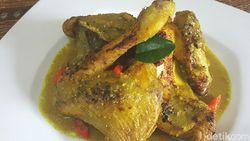 Resep Opor Ayam Lebaran Bakar Untuk Lauk Ketupat Lebaran