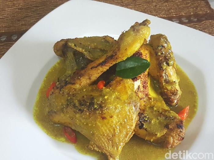 Resep Opor Ayam Lebaran Bakar