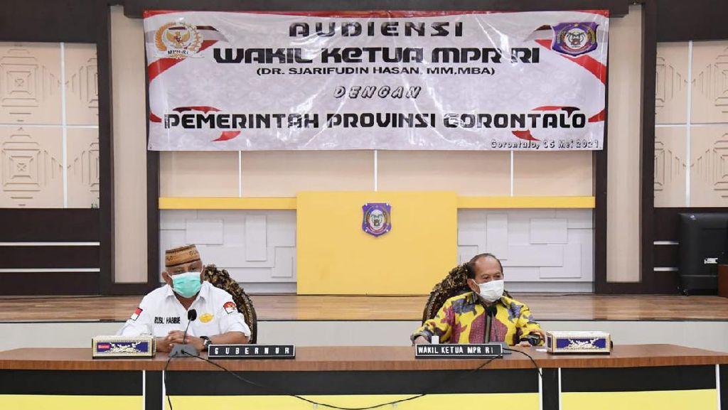 Gubernur Gorontalo: Saya Setuju dengan Dihidupkannya Kembali GBHN