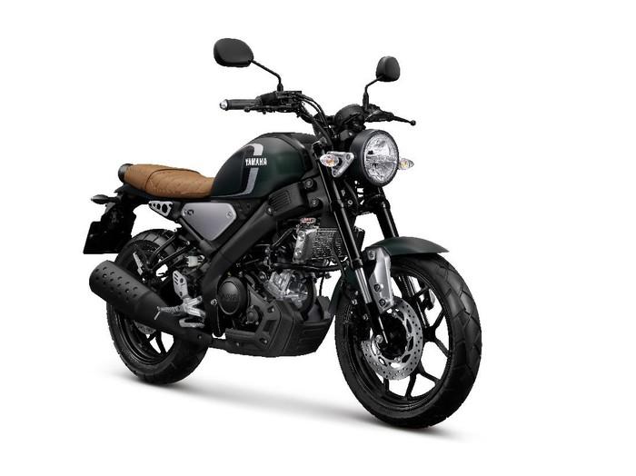 Yamaha XSR155 Matte Green