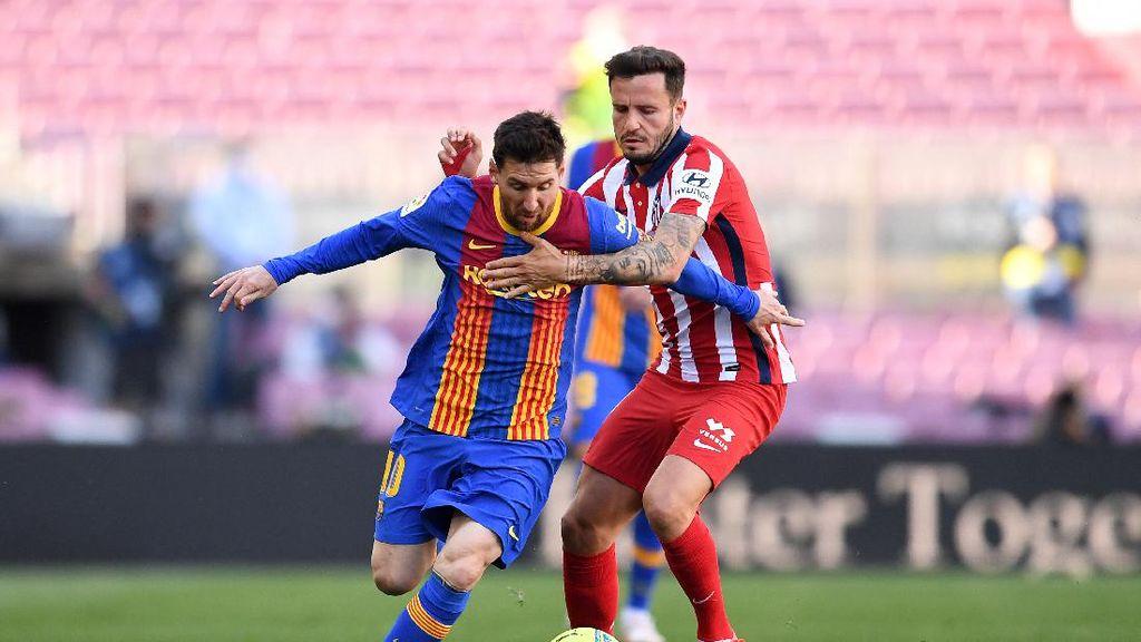Barcelona Vs Atletico Madrid Tuntas 0-0