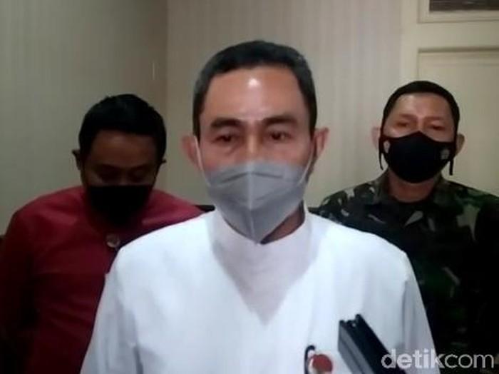 Bupati Pati Haryanto, Sabtu (8/5/2021).