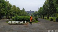 Cegah Penyebaran Covid-19, Candi Borobudur Ditutup Sementara
