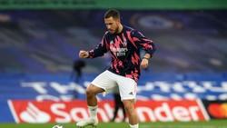 Mourinho Akui Buruknya Kualitas Latihan Hazard